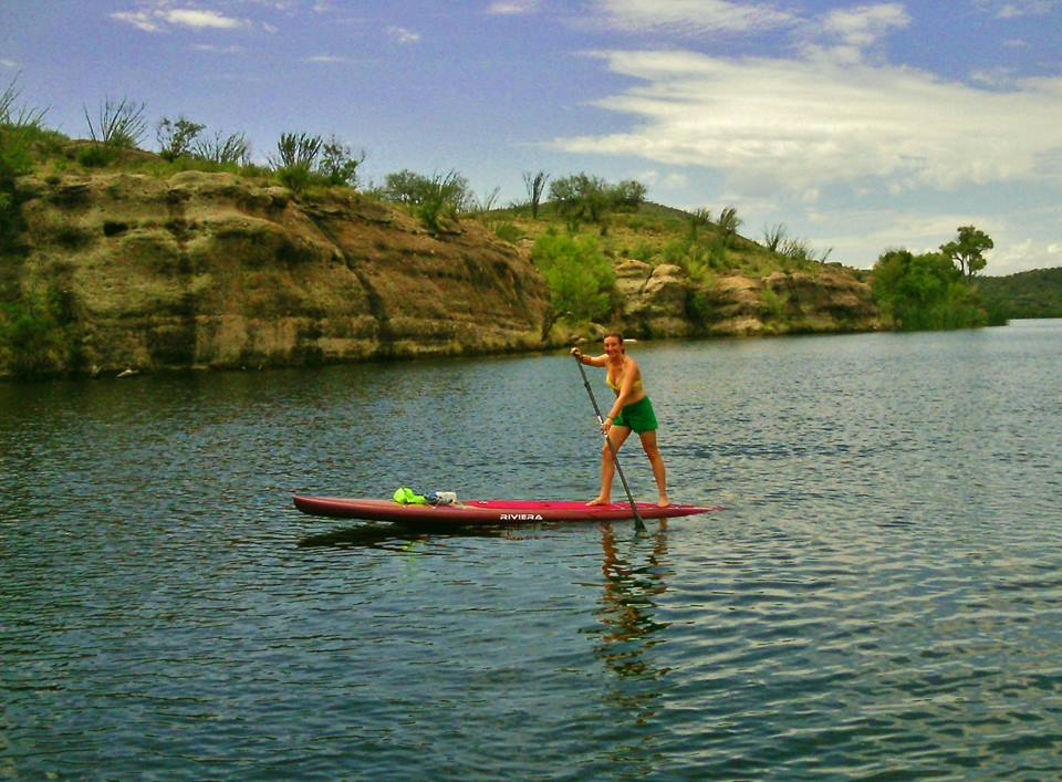 Where to sup paddle board best paddleboard areas in az for Patagonia lake fishing